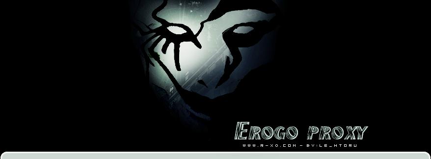 تقرير عن الأنمي Ergo Proxy مجتمع ريلاكس للحياة نكهتنا الخاصه